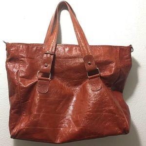Maurizio Taiuti  Leather Tote Purse Handbag